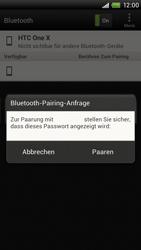 HTC S720e One X - Bluetooth - Geräte koppeln - Schritt 10