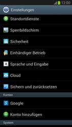 Samsung Galaxy Note 2 - Fehlerbehebung - Handy zurücksetzen - 2 / 2