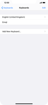 Apple iPhone 11 - Getting started - How to add a keyboard language - Step 6