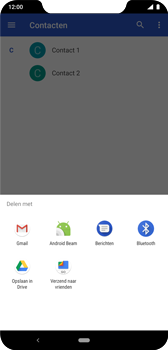 Nokia 8-1 - Contactgegevens overzetten - delen via Bluetooth - Stap 9
