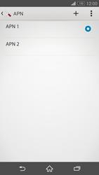 Sony Xperia Z3 - MMS - Configurazione manuale - Fase 16