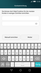 Huawei P8 Lite - E-Mail - Konto einrichten - Schritt 7