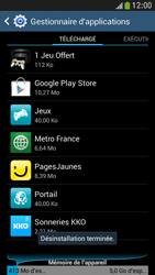 Samsung Galaxy S4 Mini - Applications - Supprimer une application - Étape 9