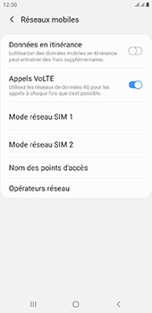 Samsung Galaxy J4 Plus - Internet - configuration manuelle - Étape 9