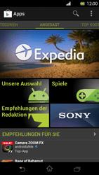 Sony Xperia T - Apps - Installieren von Apps - Schritt 4