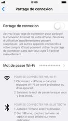 Apple iPhone 5s - iOS 11 - Internet et connexion - Partager votre connexion en Wi-Fi - Étape 4