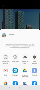 Samsung Galaxy Note 10 Lite - Photos, vidéos, musique - Créer une vidéo - Étape 17