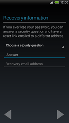 HTC One X Plus - Applications - Setting up the application store - Step 10