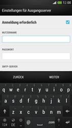 HTC One Mini - E-Mail - Manuelle Konfiguration - Schritt 13