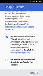 HTC 10 - Apps - Konto anlegen und einrichten - 17 / 22