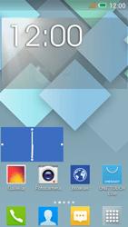 Alcatel One Touch Idol Mini - Operazioni iniziali - Installazione di widget e applicazioni nella schermata iniziale - Fase 6