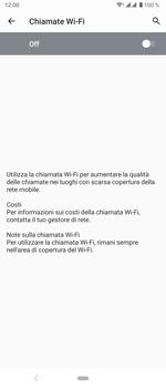 Sony Xperia 5 - WiFi - Attivare WiFi Calling - Fase 10