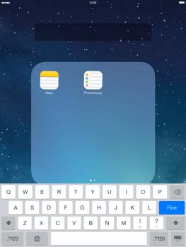 Apple iPad mini iOS 7 - Operazioni iniziali - Personalizzazione della schermata iniziale - Fase 6
