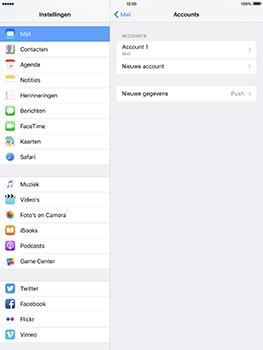 Apple iPad Pro 9.7 - iOS 10 - E-mail - e-mail instellen: IMAP (aanbevolen) - Stap 29