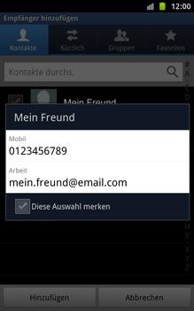 Samsung Galaxy Note - MMS - Erstellen und senden - 8 / 18