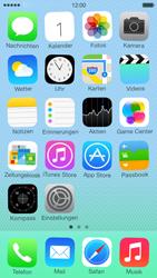 Apple iPhone 5c - Startanleitung - Personalisieren der Startseite - Schritt 8
