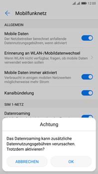 Huawei Mate 9 Pro - Ausland - Im Ausland surfen – Datenroaming - 8 / 11