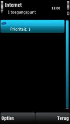 Nokia X6-00 - internet - handmatig instellen - stap 11