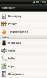 HTC T320e One V - Voicemail - Handmatig instellen - Stap 4