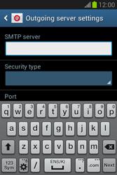 Samsung Galaxy Fame Lite - E-mail - manual configuration - Step 13