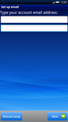 Sony Xperia X10 - E-mail - Manual configuration - Step 5