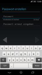 Sony E2003 Xperia E4G - Apps - Konto anlegen und einrichten - Schritt 9