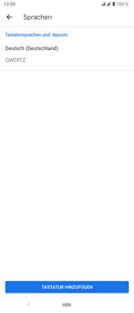 Sony Xperia 5 - Startanleitung - So fügen Sie eine Tastatursprache hinzu - Schritt 9