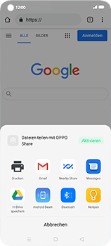 Oppo Find X2 Neo - Internet und Datenroaming - Verwenden des Internets - Schritt 22