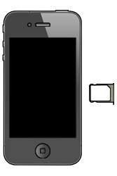 Apple iPhone 4 S - SIM-Karte - Einlegen - 3 / 7