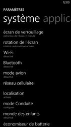 Nokia Lumia 1320 - Internet et roaming de données - Désactivation du roaming de données - Étape 4
