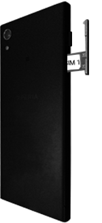 Sony Xperia XA1 - SIM-Karte - Einlegen - 1 / 1