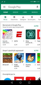 Huawei P20 - Android Pie - Applicazioni - Configurazione del negozio applicazioni - Fase 19