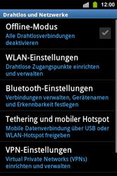 Samsung S5830i Galaxy Ace i - WLAN - Manuelle Konfiguration - Schritt 5