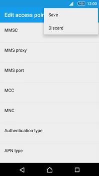 Sony Xperia Z5 Premium (E6853) - MMS - Manual configuration - Step 15