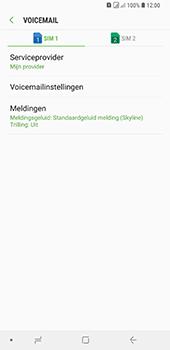Samsung Galaxy A9 (2018) - voicemail - handmatig instellen - stap 7