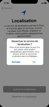 Apple iPhone X - Premiers pas - Configuration de l
