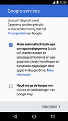 Motorola Moto G 4G (3rd gen.) (XT1541) - Applicaties - Account aanmaken - Stap 17