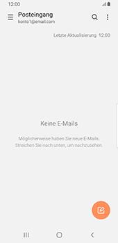 Samsung Galaxy S9 - Android Pie - E-Mail - Konto einrichten - Schritt 5