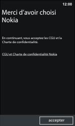 Nokia Lumia 800 - Premiers pas - Créer un compte - Étape 10