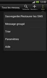HTC C525u One SV - SMS - configuration manuelle - Étape 5