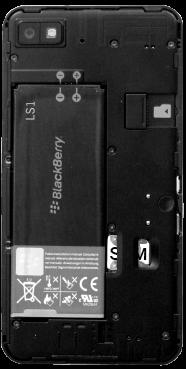 BlackBerry Z10 - SIM-Karte - Einlegen - 6 / 8