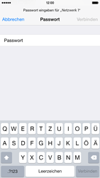 Apple iPhone 6 iOS 8 - WLAN - Manuelle Konfiguration - Schritt 6