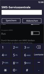 Nokia Lumia 800 - SMS - Manuelle Konfiguration - Schritt 7