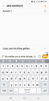 Samsung Galaxy A8 Plus (2018) - MMS - Erstellen und senden - 16 / 25
