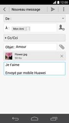 Huawei Ascend P6 LTE - E-mail - Envoi d