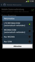 Samsung Galaxy S4 Active - Netzwerk - Netzwerkeinstellungen ändern - 0 / 0
