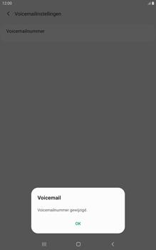Samsung galaxy-tab-a-8-0-lte-2019-sm-t295 - Voicemail - Handmatig instellen - Stap 12