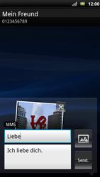 Sony Ericsson Xperia X10 - MMS - Erstellen und senden - Schritt 17