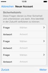 Apple iPhone 4 S mit iOS 7 - Apps - Konto anlegen und einrichten - Schritt 24