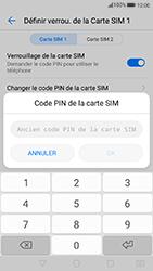 Huawei P10 Lite - Sécuriser votre mobile - Personnaliser le code PIN de votre carte SIM - Étape 7
